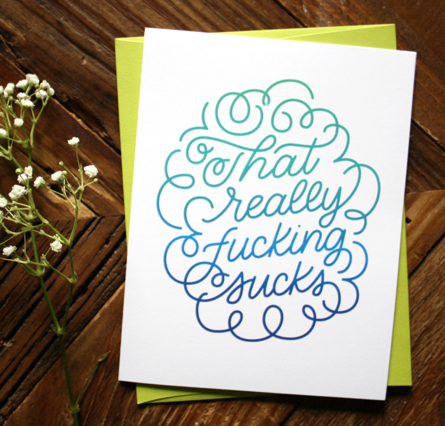 That really sucks sympathy greeting card inkery road ilfullxfull1107211437os3o kristyandbryce Images